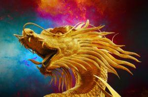 vechten met de draak